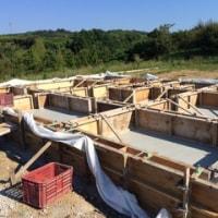 型枠・コンクリート打設工事