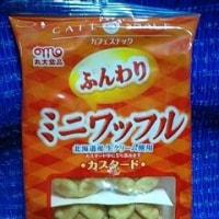丸大食品のミニワッフルカスタード、これ大ハズレっ!><