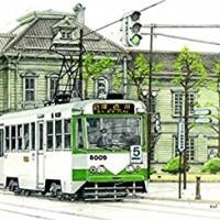 「販売/モデルアイコン 設計/グレイスモデル」の函館市電8000型再生産出来。