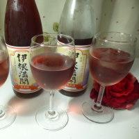 赤米の日本酒はまるで果実酒☆伊根満開☆京都府与謝郡・向井酒造♪