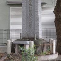 木村重成の銅像・重成の本陣