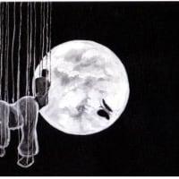 詩画・月見る月[てふてふ舞]