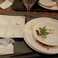 ホテルでディナー(不思議なお客)