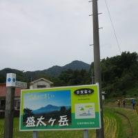4 盛太ヶ岳(891m:島根県吉賀町)登山  登山の開始