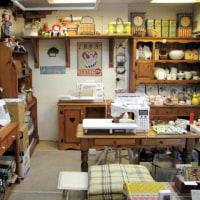 10月23日(日)お店の2階を整理整頓中!(株)しもだミシン