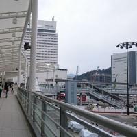 10月30日から広島駅北口ペデストリアンデッキ利用可能に!