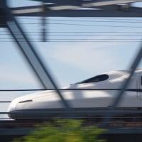2017/5/5の富士山と新幹線
