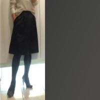 通勤セーター(*^o^*)=嫁ぐ娘と写真選び♪♪=【通勤編】