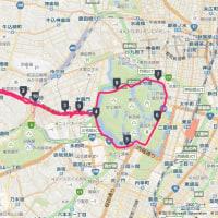 新宿から皇居ラン・トレーニングコース