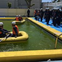 昭和区水防訓練が行われました