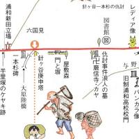 中山道を歩く(浦和宿→大宮宿 5.9Km)