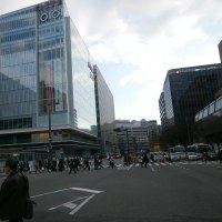 博多駅横に、新ビル2つ、KITTE博多とJRJP博多が完成間近!