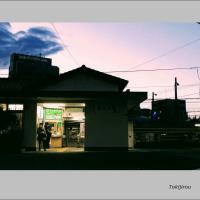 夕暮れの東淀川駅
