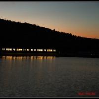 日が沈むあとの景色
