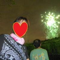 夏の終わりに・・・かき氷半額! 花火大会!
