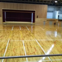 シーダアリーナ(五條市上野(こうず)公園総合体育館の下見してきました。