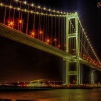 なんで橋の夜景って癒されるんでしょうねえ