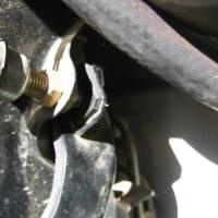 ブレーキランプ 自己修理の件