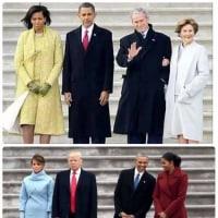 大統領になる人、大統領から解放された人の違い。こんな画像見たら、いくら意見が合わなくとも、黙って見守ってやろうという気にならん?