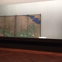 酒井抱一の国宝「夏秋草図屏風」が、東京国立博物館で公開されているので行ってきた。写真撮影OKなので、本物を撮影し