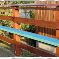 「DIY 木塀」