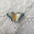 美しい蝶のブローチたち・・・