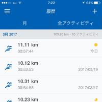 体重とジョギング記録