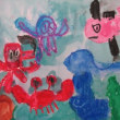 小学部5年 図画工作「絵の具で描こう」