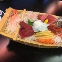 新年会⑬ 強風の中屋形船? in 「三浦屋」さん