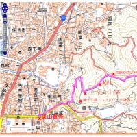 住民が防災マップ作り。鳥取市有楽町