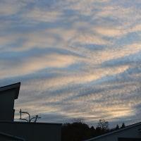 11月30日、午前6時~8時過ぎの空模様