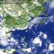 四角い台風とグリッド圧力