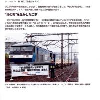 「残土運搬列車」 (乗りものニュース・東洋経済ONLINE) 「豊丘村 着工同意」 (信毎web)