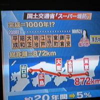 3月6日テレビ朝日北小岩スーパー堤防を放映③