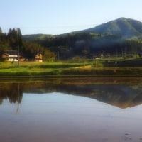 能登富士も田植えの時期です