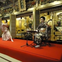 細棹三味線と日本舞踊による「春のお座敷唄」