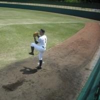 高校野球、春の地区大会(新潟)「高田高校」対「長岡高校」
