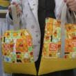 キャラクターの通園バッグとくつ袋