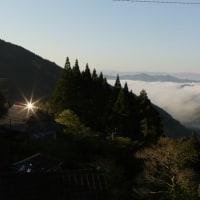 芦北町黒岩にて今シーズンの初雲海