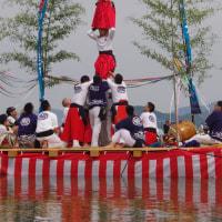 速報 今治春祭り獅子舞奉納/継ぎ獅子(大西地区)
