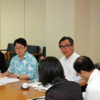 来年度からの国保県単位化で社保協が県に要請活動