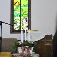 クリスマス礼拝と祝会をしました
