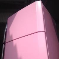 どうしてもやめられないピンクの冷蔵庫