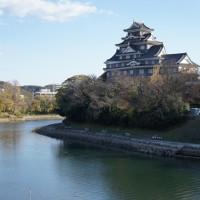 エヴァ新幹線に乗ってちょい旅 中抜けして岡山城へ
