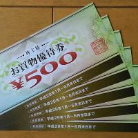 ヤマダ電機の株主優待券が届きました!