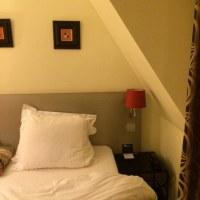 パリのホテルは狭いか?