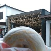梅ヶ枝餅とスタバ