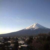 阪神大震災から22年目経過で想うこと 今朝も富士山ぴかぴか