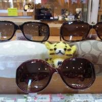 今日のお勧めはコーチのサングラスです!福岡の質屋ハルマチ原町質店♪