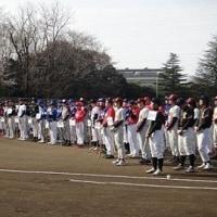 久喜市野球連盟野球大会開会式